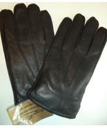 Thunderball Rabbit Fur Lined Genuine Leather Gloves, Black, XLarge - $101.72