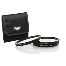 Vivitar 52mm 3-Piece Solid Neutral Density Filter Kit with ND2, ND4  ND8... - $23.99