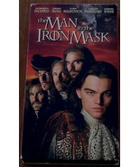 Great VHS Video, The Man In The Iron Mask, Leonardo DiCaprio, Jeremy Iro... - $5.93