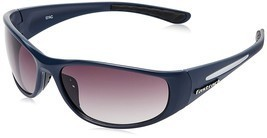 Fastrack Wrap Unisex Sunglasses - (P120BK2|65|Blue) - $55.99