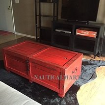 Home And Living Room Trunk Wooden Coffee Table - $1,500.00