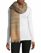 Lauren Ralph Lauren Boucle Textured Check Scarf (Creamcamel, One Size) - $44.88