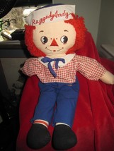 "Raggedy Andy Kinckerbocker 17"" Doll - $9.46"