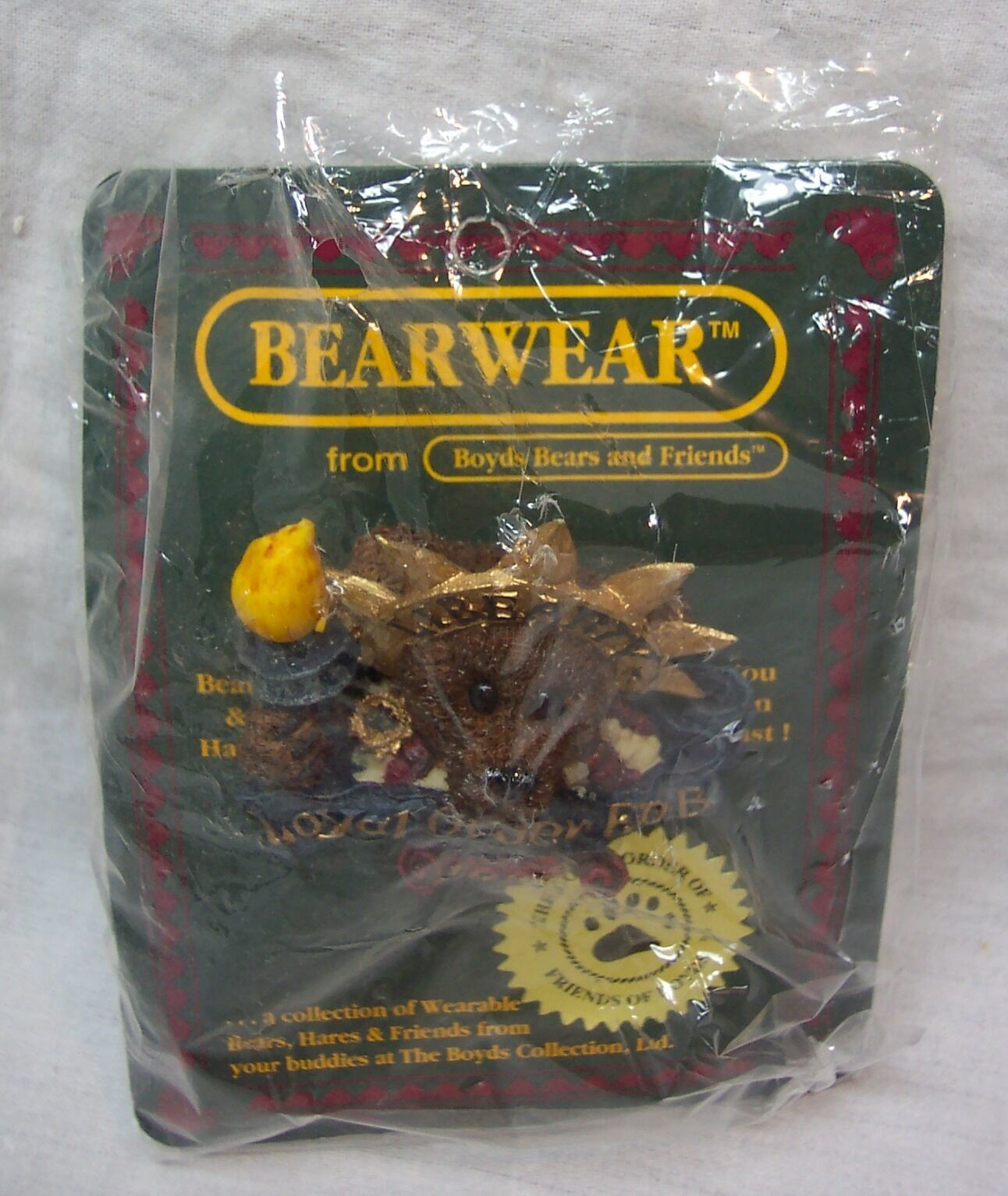Boyds Bearwear MS. LIBEARTY 1998 COLLECTOR'S Exclusive PIN NEW - $14.85