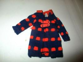 1971 Skipper doll Double Dashers Orange and Blue Mod Coat Jacket fashion... - $10.00