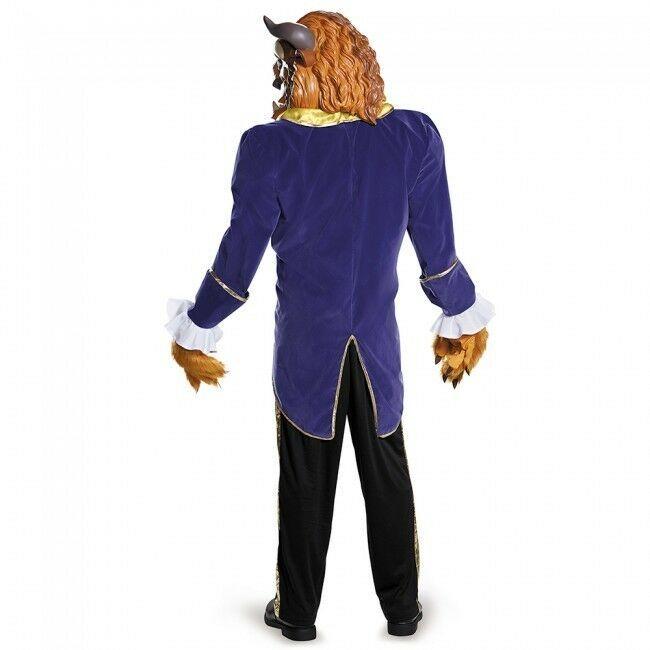 Disguise Belle et la Bête Ultra Prestige Adulte Hommes Déguisement Halloween image 2