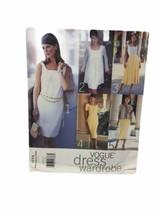Vogue 1774 Misses Petite Jacket Dress Skirt Sewing Pattern Size 8 10 12 - $9.89