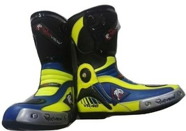 Motorbike Genuine Leather Boots Elegant Design - $100.00