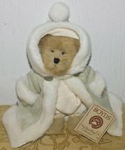Boyds Bären Natasha Crystalfrost #904183 Plüsch Bär Silber samt / Pelz Nwt Neu - $36.99