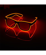 Halloween LED Glasses Flashing Wire CE Certified Luminous Party Lighting... - $9.99