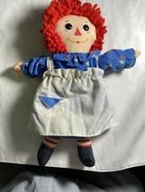 "Vintage 1989 18"" Playskool Raggedy Ann Doll 70105 Plush Soft Classic Tus... - $27.85"
