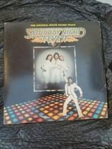 "Saturday night fever ""Original Movie Soundtrack "" Vinyl Record 12"" Vintage  - $11.87"