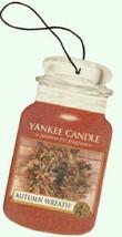 9 new yankee candle classic car jar air freshener autumn wreath scent - $19.00