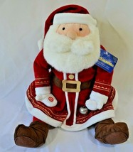 "Hallmark The Polar Express 18"" Talking Santa Claus Plush Jingle Bell Tags  - $24.99"