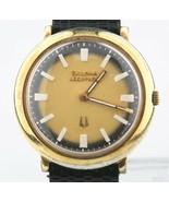 1974 Bulova Accutron Men's Gold-Plated Tuning Fork Mvmt 2110 Watch Origi... - $627.28