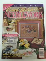 Better Homes and Gardens Cross Stitch & Needlecraft April 1997 Tea Party Spring - $3.00