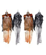 Hanging Halloween Decoration - Realistic Floating Ghoul Ghost Skeleton F... - $27.96