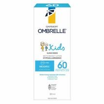 2 PACK Garnier Ombrelle Kids Wet'N Protect Sunscreen Lotion, SPF 60, 200 ml - $48.46