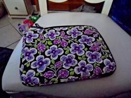 Vera Bradley Tablet sleeve in Plum Petals - $11.50