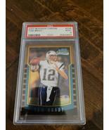 2000 BOWMAN CHROME TOM BRADY ROOKIE CARD PATRIOTS BUCCANEERS GOAT PSA 9 ... - $8,499.99