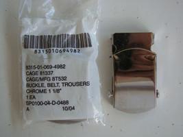 Usaf Us Air Force General Officer Ranks Polished Silver Hap Arnold Belt Buckle W - $44.54