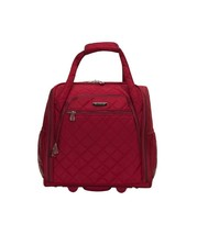 """Wheeled Underseat 15"""" Carry-On Bag Travel Luggage Lightweight Soft Quilt... - $1.453,98 MXN"""