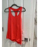 Women's Champion Coral Duo Dry Racerback Tank Top Size Medium - $4.20