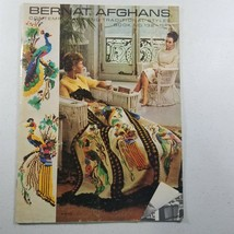 Bernat Afghans Contemporary and Traditional Styles No. 132 1966 - $8.58