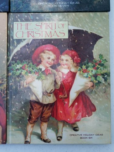 4 Leisure Arts The Spirit Of Christmas Creative Holiday Ideas Books 4 3 6 7
