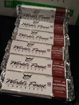 WORLD'S FINEST CHOCOLATE Almond 12  x $2.00 Each Bars - $23.99