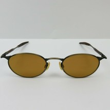 Oakley Michael Jordan Oo E Wire Sunglasses Vtg Frames Gold Lenses - $277.00