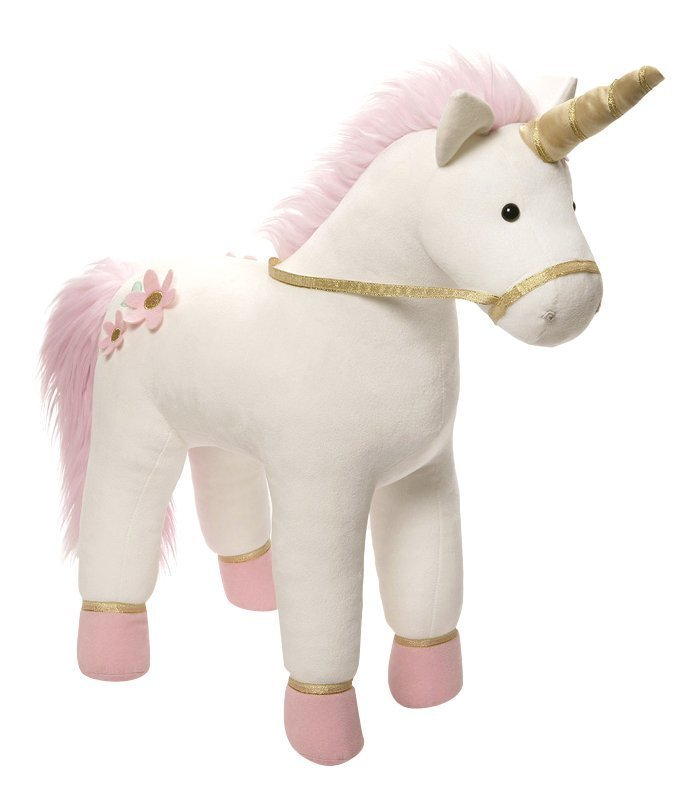 Image 0 of Gund Lilyrose Pink Unicorn Plush, 13