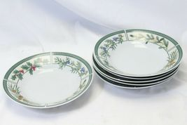 Fairfield Wintergreen Plates and Bowls Lot of 15  Christmas image 7
