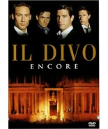 Il Divo - Encore, Music Video Concert, DVD, 2006 - $14.99