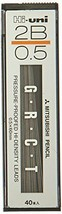 Mitsubishi Pencil Uni refill leads Hi-uni 0.5 mm core 2B HU05300-2B - $6.19