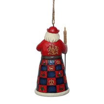 Jim Shore British Santa Hanging Ornament Around the World Christmas 6001509 image 2