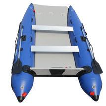 BRIS 11 ft Inflatable Catamaran Inflatable Boat Dinghy Mini Cat Boat Blue  image 3