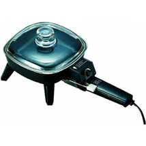 Brentwood 6-8 in. Electric Skillet with Glass Lid - $53.40