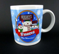 Hershey's S'mores The Merrier Holiday Winter Chocolate Mug Cup Cocoa Coffee - $12.46