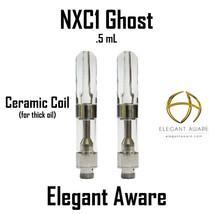 10pk .5ml NXC1-Clear CCell Vap.e/r Glass Dank Cartridge 510 Touch Cerami... - $34.60