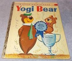 Little Golden Book Yogi Bear #395 Hanna Barbera 1960  - $12.95