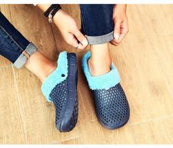 Winter Warm Slippers Men Indoor Shoes Cotton Pantoffels Casual Clogs Sli... - $31.26 CAD