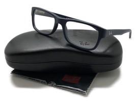 e64ecdc753d11 Ray Ban Navy Blue Matte Acetate 52 17 135 Eyeglasses RB 5268-5583 -  89.96
