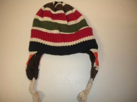 Gap Kids Youth Size S/M Multi Color Unisex Winter Beanie Trapper Hat Cap - $4.95