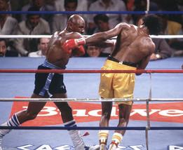 Thomas Hearns Marvin Hagler IAS Vintage 28X35 Color Boxing Memorabilia P... - $45.95