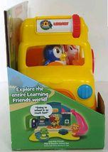 NEW Leap Frog Learning Friends Adventure Bus Core Learning Skills with Figures image 4