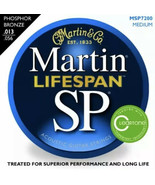 CF Martin Co MSP7200 MED Lifespan SP Acoustic Guitar Strings w Cleartone... - $29.70
