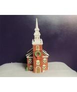 "DEPT 56 NEW ENGLAND VILLAGE ""OLD NORTH CHURCH"" - #59323 - $21.83"