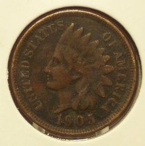 1905 Indian Head Cent Full Liberty #0594 - $3.99