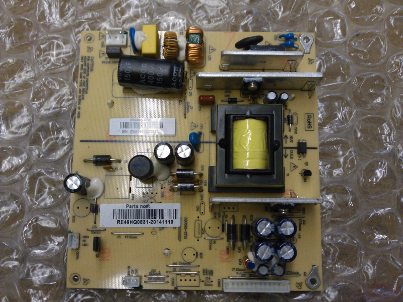 Primary image for RE46HQ831 Power Supply Board From RCA LED40G45RQD LCD TV